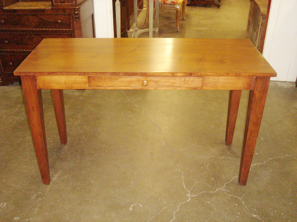American style table built by Prestige.